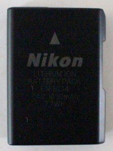 jual baterai kamera nikon en-el14
