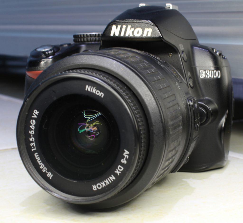 Jual DSLR Nikon D3000 Di Malang