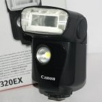 Jual Speedlite Canon 320EX Fullset
