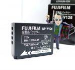 Baterai Fujifilm NP-W126 For Fujifilm X-A3, X-E1, X-A1, X-M1