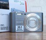 Jual Camera digital Sony dsc w810 second