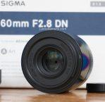 Jual Lensa Sigma 60mm f2.8 Dn. ART – Japan – E-Mount