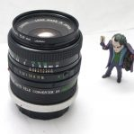 Lensa Canon FD 50mm 1.2 + Auto Tele Converter 2x