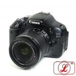 Jual DSLR Canon 600D + Lensa Kit 18-55mm