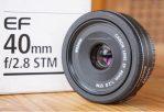 Jual Lensa Fix Canon 40mm STM Bekas