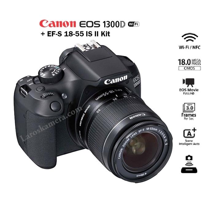 Jual kamera canon 1300d wi fi baru laroskamera jual jual kamera canon 1300d wi fi baru thecheapjerseys Choice Image