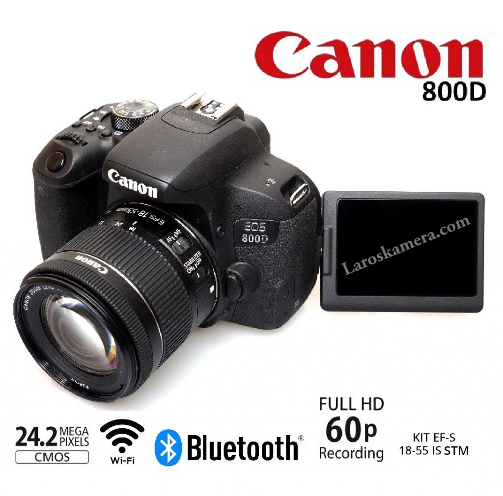 Jual Kamera Canon EOS 800D Lensa 18-55mm STM ( Baru )