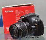 Jual Kamera Canon 1100D Fullset Second