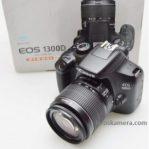 Jual Kamera Canon EOS 1300D Fullset Bekas