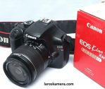 Jual Kamera DSLR Canon Kiss X50/1100D Second