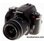 Jual Kamera Sony Alpha a230 Fullset Second
