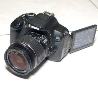 Jual Kamera Canon 650D Bekas
