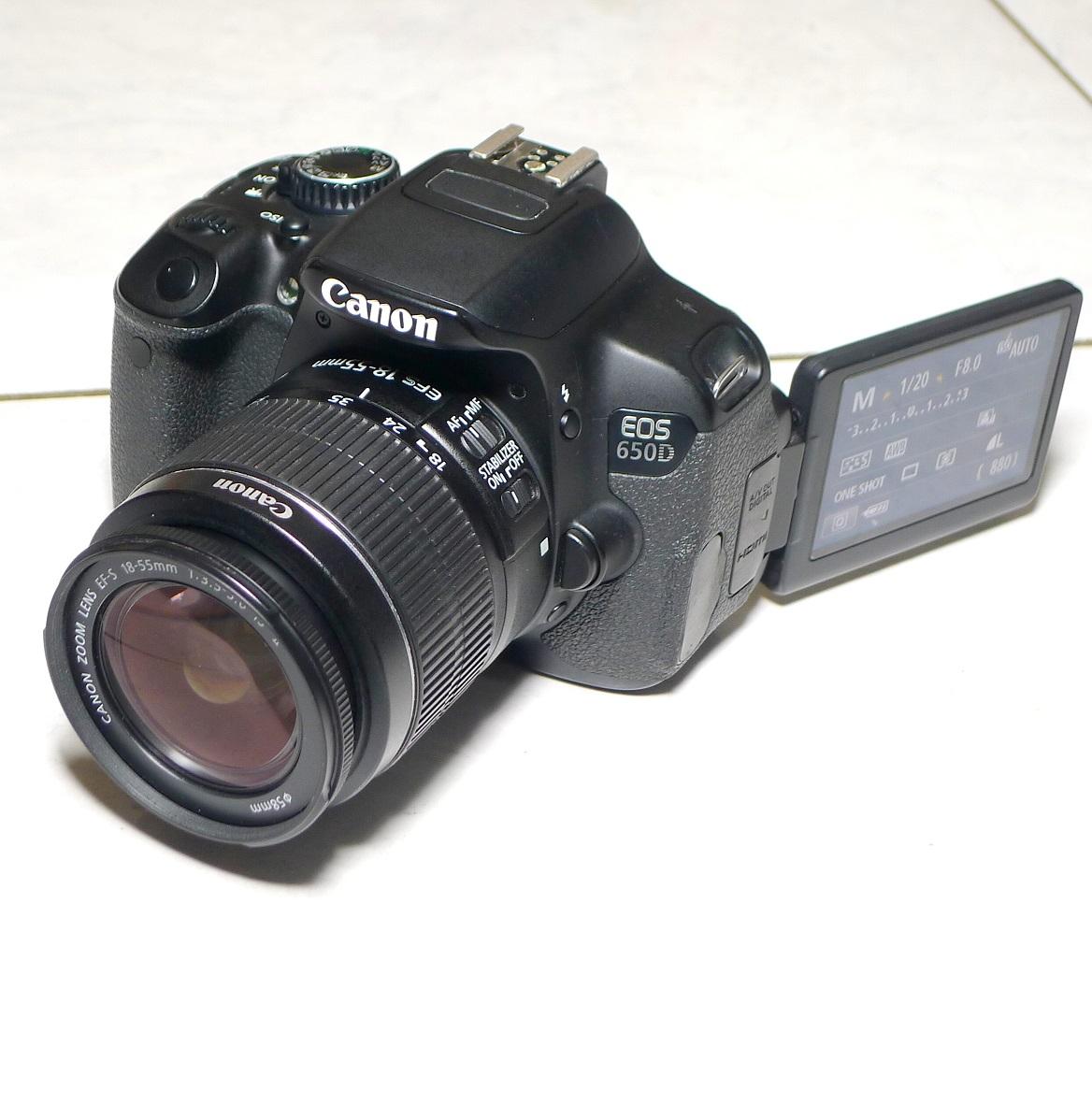 Jual Kamera Canon Eos 650D Bekas