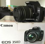 Jual Kamera DSLR Canon Eos 350D Second