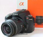 Jual Kamera DSLR Sony a580 Fullset Second