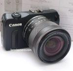 Jual Kamera Mirrorless Canon EOS 18-55mm Kit Second