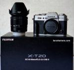 Jual Kamera Mirrorless Fujifilm X-T20 Second