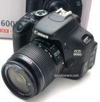 Jual Kamera DSLR Canon 600D Bekas