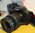 Jual Kamera DSLR Canon 600D Bekas Malang