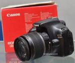 Jual Kamera DSLR Canon EOS 1100D Second
