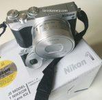 Jual Kamera Mirrorless Nikon J5 Wifi Fullset Second