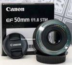 Jual Lensa FIX Canon 50mm f1.8 ii Bekas