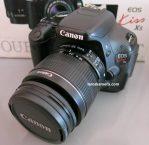 Jual Kamera DSLR Canon Kiss X5 ( eos 600d ) Second