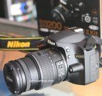 Jual Kamera DSLR Nikon D3200 Kit VR2 Second