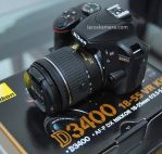 Jual Kamera DSLR Nikon D3400 Second