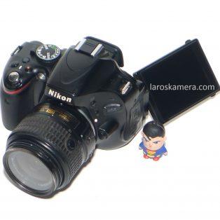 Jual Kamera DSLR Nikon D5100 Bekas di Malang