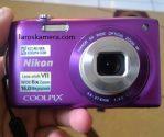 Jual Kamera Digital Nikon Coolpix S3300 Second
