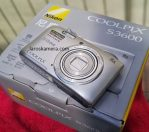 Jual Kamera Digital Nikon Coolpix S3600 Second