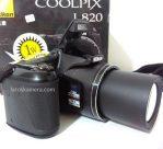 Jual Kamera Prosumer Nikon Coolpix L820 Bekas