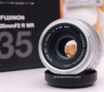 Jual Lensa Fujifilm Fujinon 35mm F2 WR Bekas