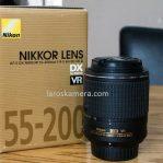 Jual Lensa Nikon 55-200mm VR2 Second