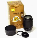 Jual Lensa Nikon 55-200mm non VR Second