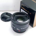 Jual Lensa Yongnuo YN50mm f1.8 for Nikon Second