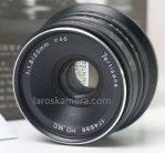 Lensa 7 Artisans 25mm f1.8 untuk Fujifilm Bekas