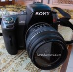 Jual Kamera DSLR Sony A550 Second
