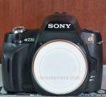 Jual Kamera DSLR Sony alpha a230 Second