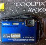 Jual Kamera Digital Nikon Coolpix AW100 Bekas