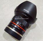Jual Lensa Samyang 12mm f2 for Sony e Mount Second