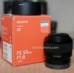 Jual Lensa Sony FE50mm f1.8 Second
