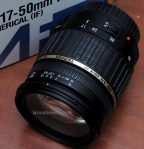 Jual Lensa Tamron 17-50mm F2,8 untuk Sony A Bekas