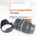 Jual Lensa tamron SP-AF 28-75mm f2,8 for Sony a Bekas