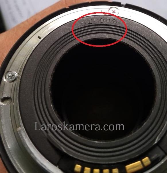 Mengenal Kode Produksi Lensa Canon