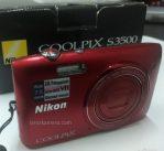 Jual Kamera Digital Nikon Coolpix S3500 Second