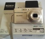 Jual Kamera Digital Sony DSC W710 Cybershot Bekas