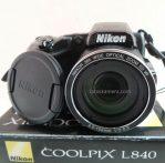 Jual Kamera Prosumer Nikon Coolpix L840 Wifi Bekas