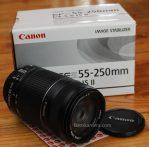 Jual Lensa Canon 55-250mm Second